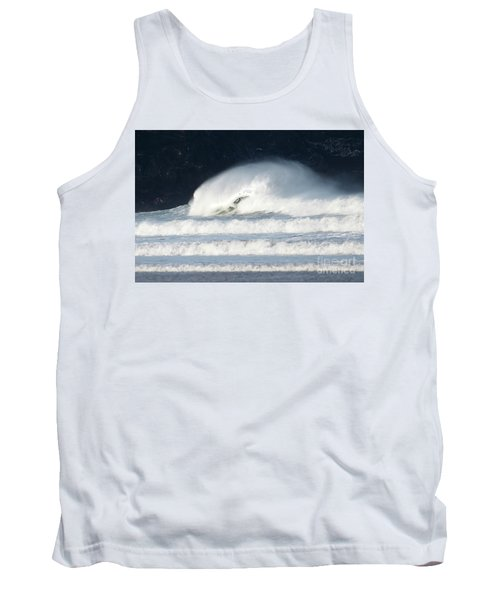 Tank Top featuring the photograph Monster Wave by Nicholas Burningham