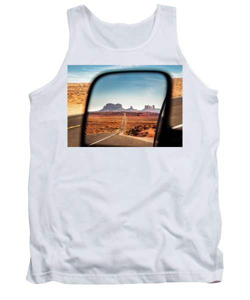 Monument Valley Rearview Mirror Tank Top