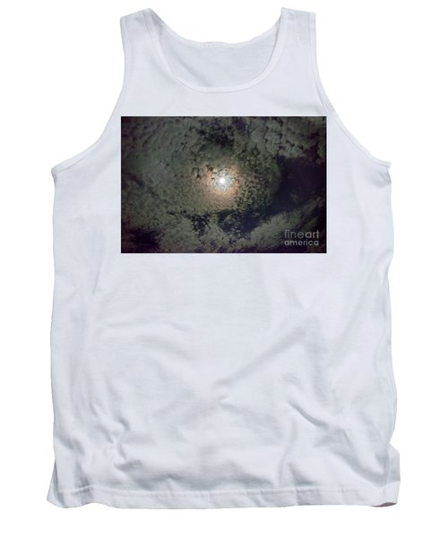 Moon And Clouds Tank Top
