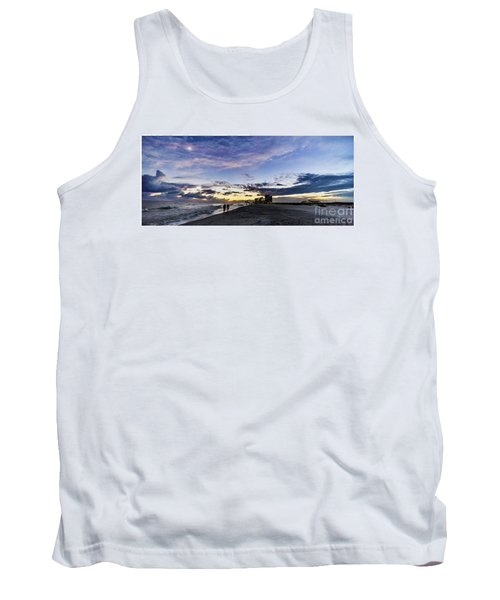 Moonlit Beach Sunset Seascape 0272b1 Tank Top