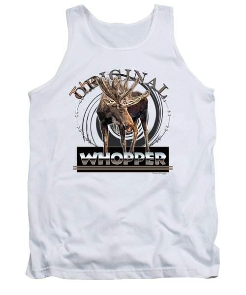 Moose Whooper Tank Top