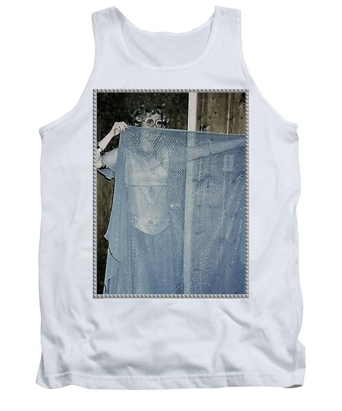 Tank Top featuring the photograph More Peek-a-boo by Denise Fulmer
