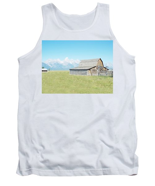 Mormon Row Barn - Grand Tetons Tank Top