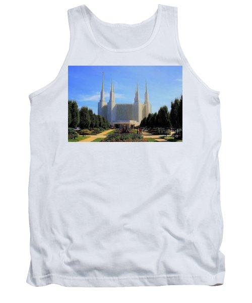 Mormon Temple Dc Tank Top