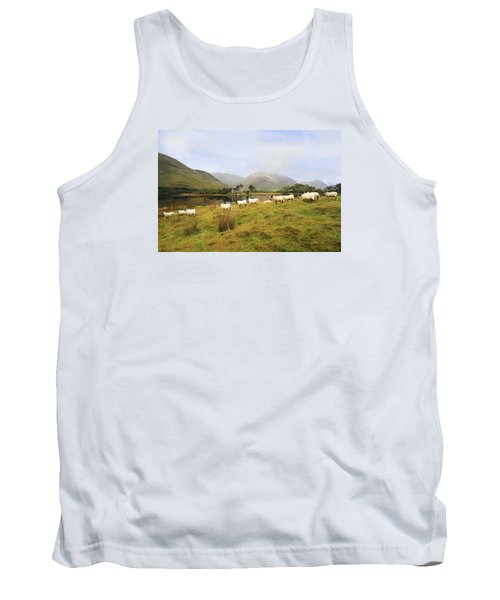 Tank Top featuring the photograph Morning At Kilchurn by Roy  McPeak