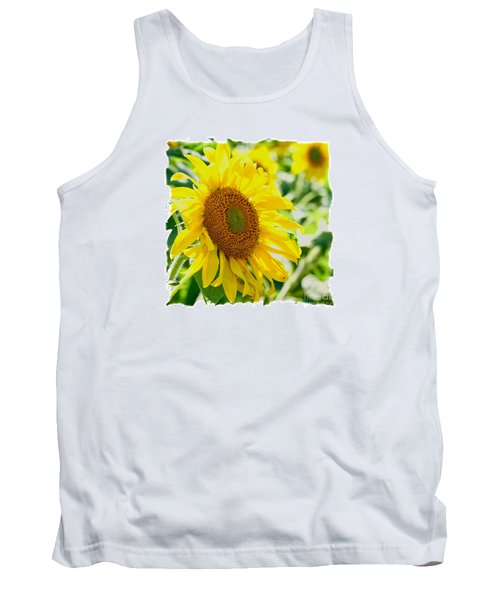 Morning Glory Farm Sun Flower Tank Top by Vinnie Oakes