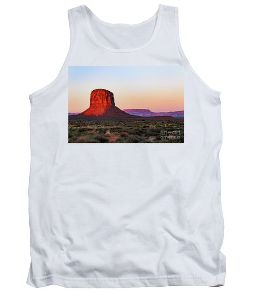 Morning Glory In Monument Valley Tank Top