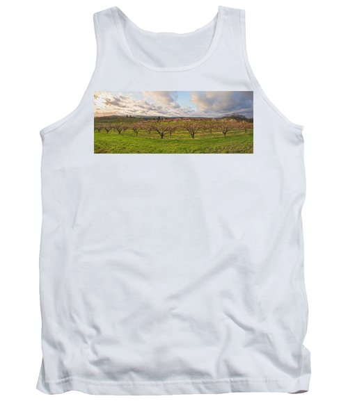 Morning Glory Orchards Tank Top by Angelo Marcialis