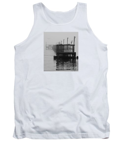 Tank Top featuring the photograph Morning Meeting by Joe Jake Pratt