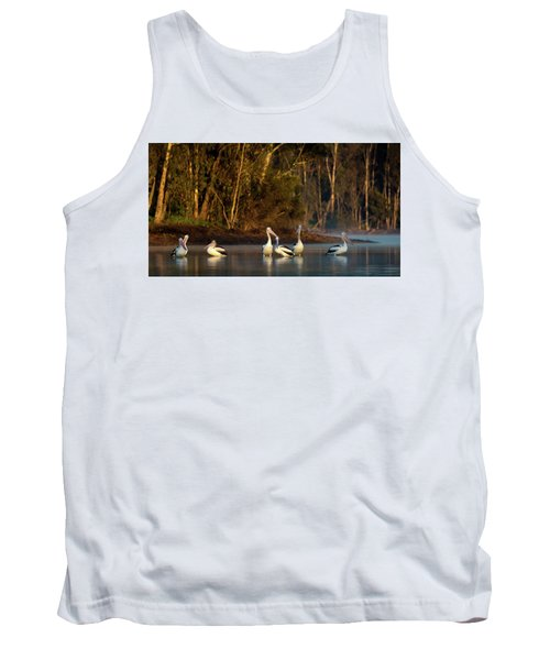 Morning On The River Tank Top