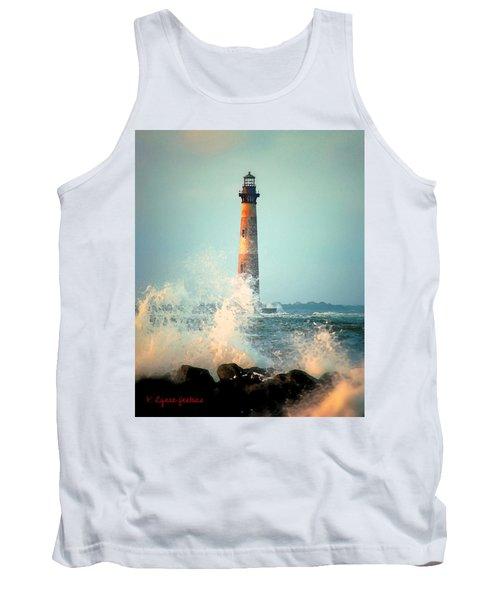 Morris Island Lighthouse Tank Top