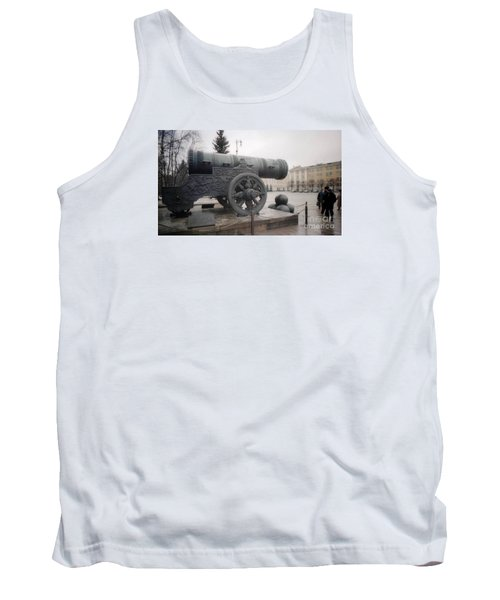Moscow Cannon Relic Tank Top by Ted Pollard