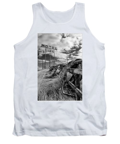 Motel Cafe Northern Texas  Tank Top