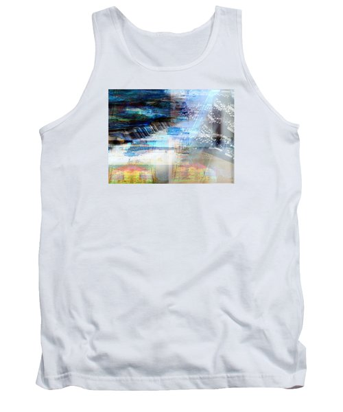 Motivational Piano Tank Top