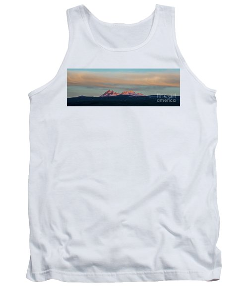 Mount Aragats, The Highest Mountain Of Armenia, At Sunset Under Beautiful Clouds Tank Top by Gurgen Bakhshetsyan