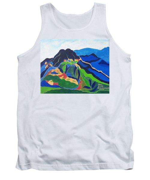 Mount Canigou Tank Top