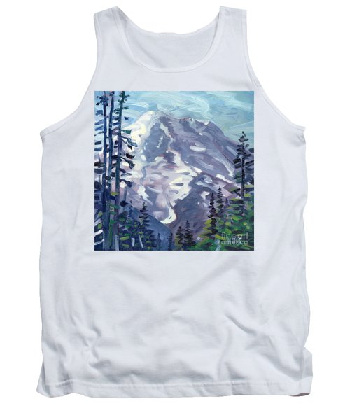 Mount Rainier From Sunrise Point Tank Top by Donald Maier