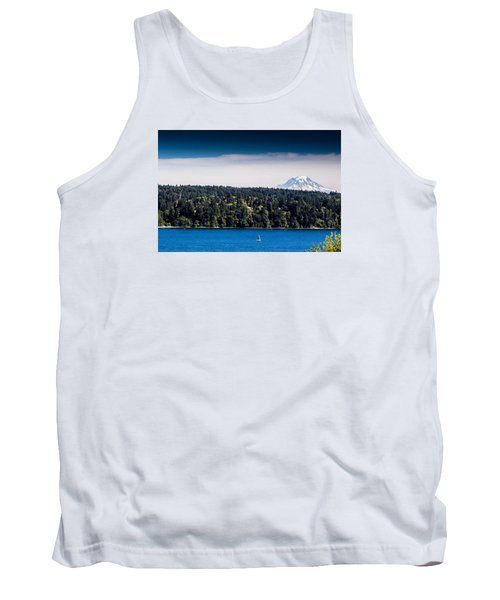 Mount Rainier Tank Top