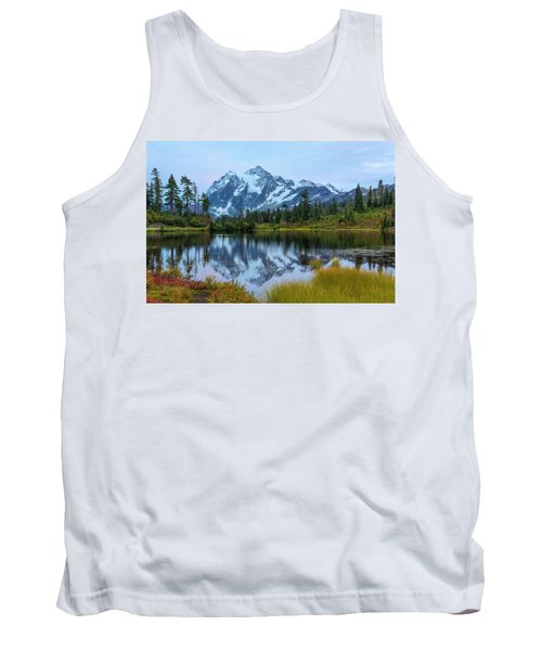 Mount Shuksan And Picture Lake Tank Top