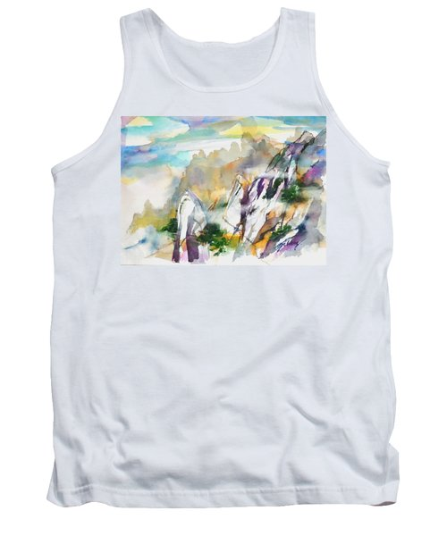Mountain Awe #2 Tank Top