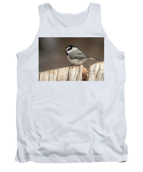 Mountain Chickadee Tank Top