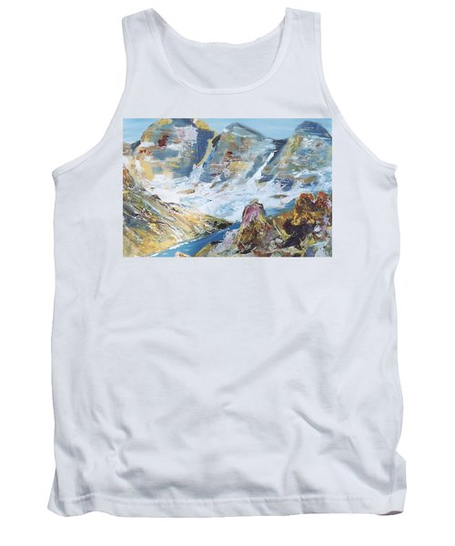 Mountain Done With Knife Tank Top