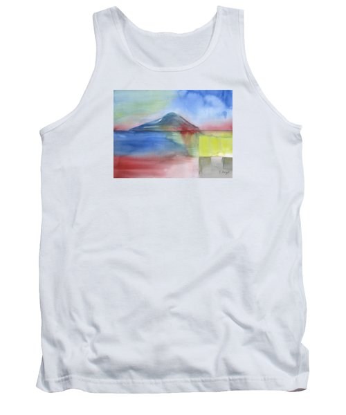 Tank Top featuring the painting Just Before The Rain by Frank Bright