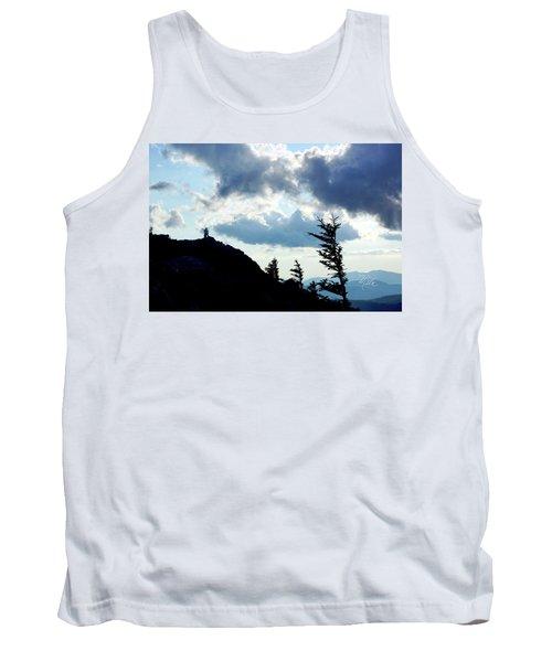 Mountain Peak Silhouette Tank Top