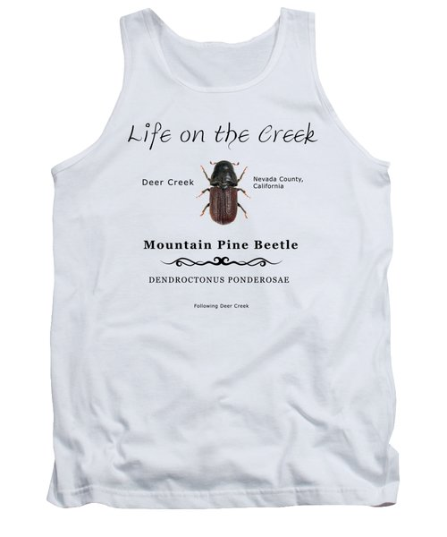 Mountain Pine Beetle Color Tank Top