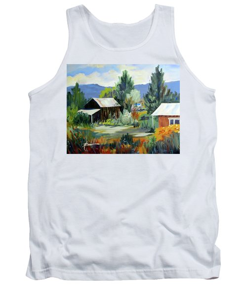 Mountain Settlement In New Mexico  Tank Top