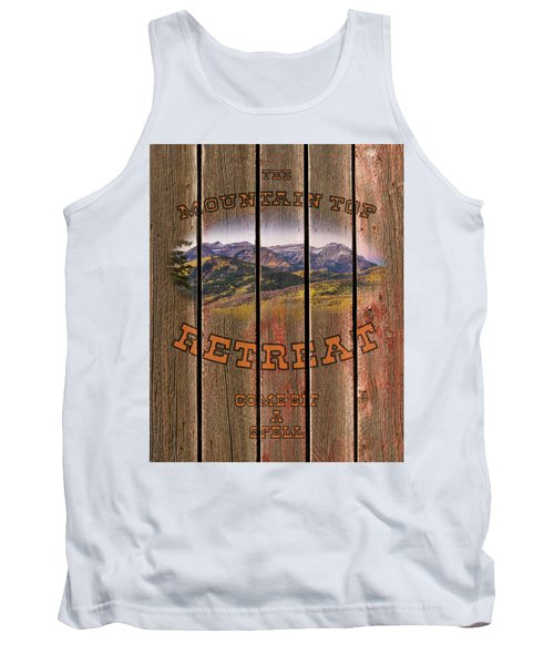 Mountain Top Retreat Tank Top