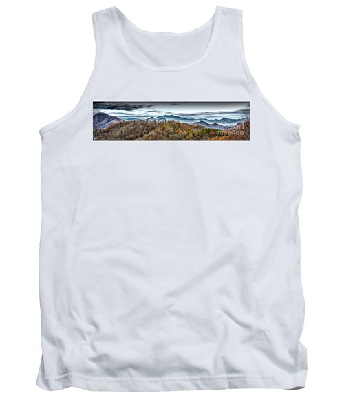 Tank Top featuring the photograph Mountains 2 by Walt Foegelle