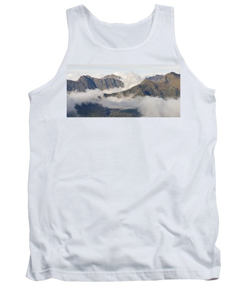 Mountains And Cloud Tank Top