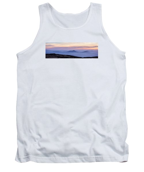 Tank Top featuring the photograph Mountains And Mist by Marion McCristall