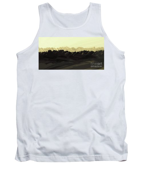Mountains Of The Mohave Tank Top