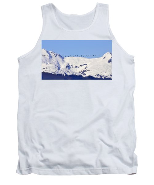 Mountaintop Geese Tank Top