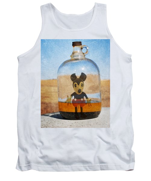 Mouse In A Bottle  Tank Top