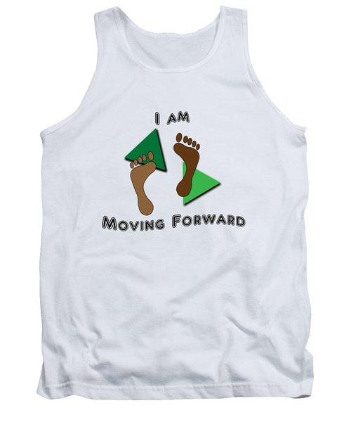 Moving Forward Tank Top by Judi Saunders