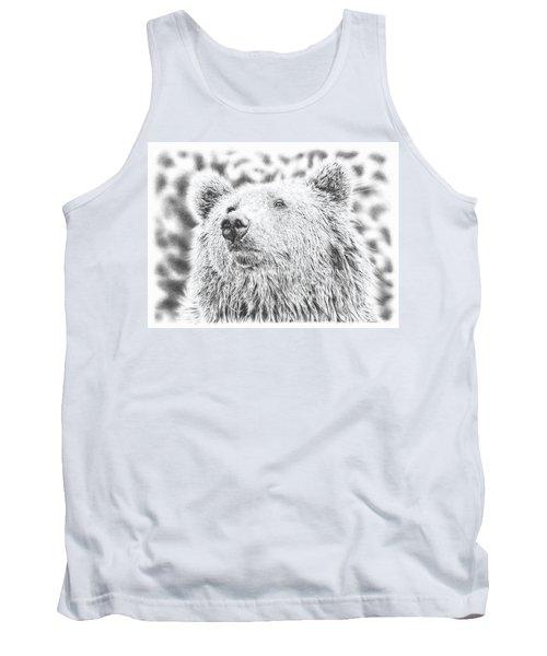 Mr. Bear Tank Top