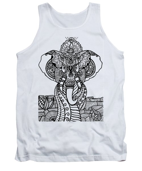 Mr. Elephante Tank Top