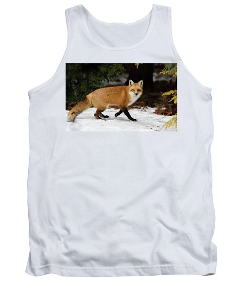 Tank Top featuring the photograph Mr Fox by Mircea Costina Photography