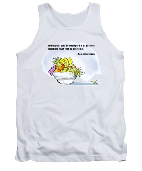 Mr. Grape And Dr. Johnson Tank Top