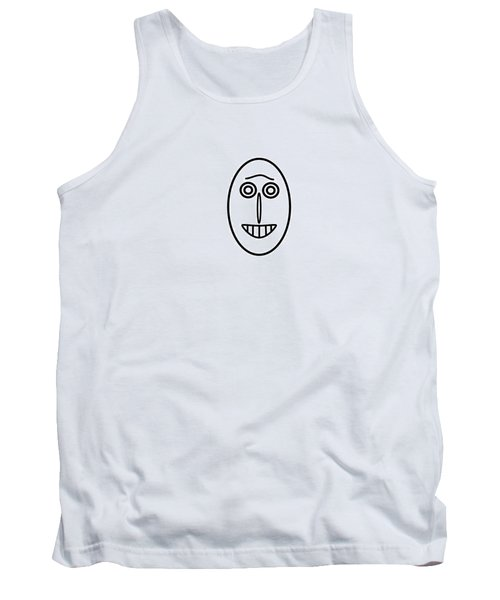 Mr Mf Has A Smile Tank Top