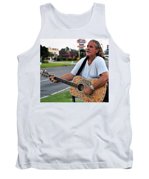 Mr. Terry Benoit Tank Top by John Glass
