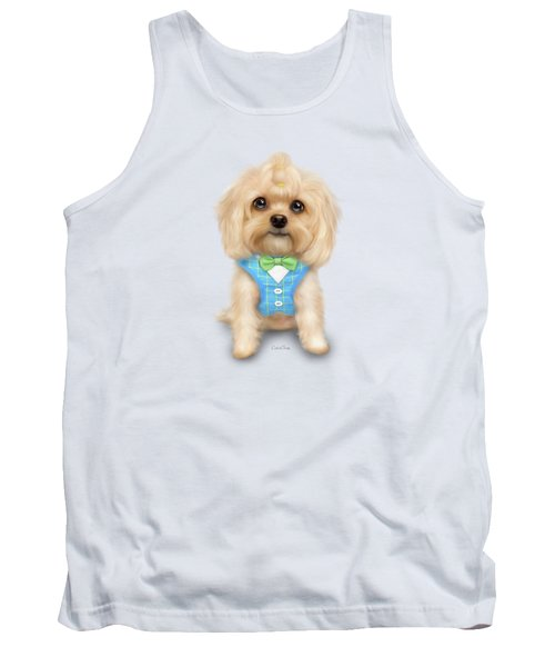 Mr.toby Waffles Tank Top by Catia Cho