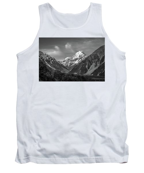 Mt Cook Wilderness Tank Top by Racheal Christian