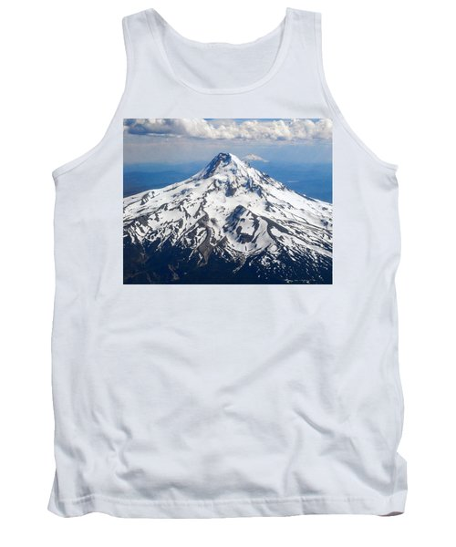 Mt. Hood From 10,000 Feet Tank Top