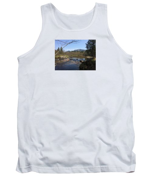 Tank Top featuring the photograph Mt. Katahdin by Robin Regan