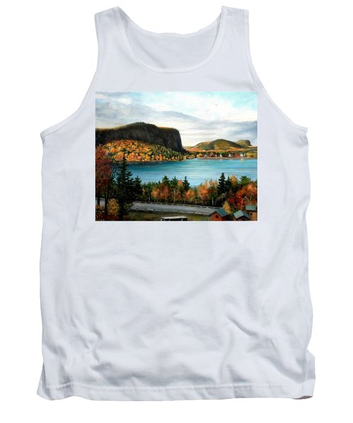 Mt. Kineo, Rockwood, Maine Tank Top