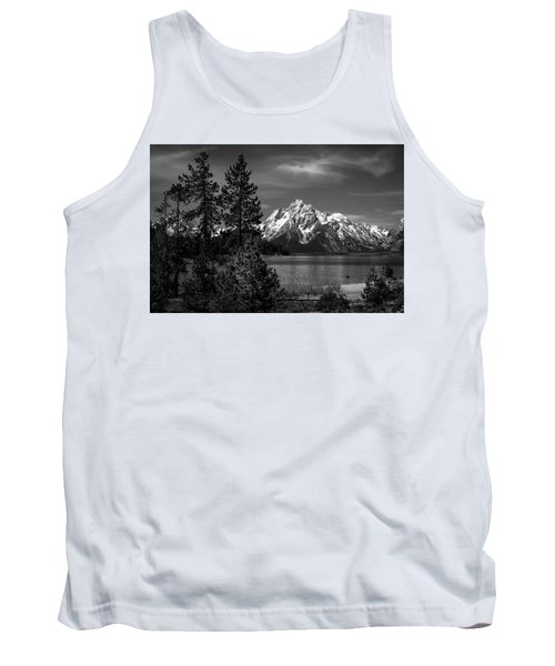 Mt. Moran And Trees Tank Top